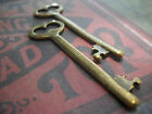 Skeleton Key Pendants Bronze Keys Steampunk Keys Bulk Skeleton Keys Lot 5/12/25