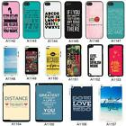 Life Sayings Quotes Cover case for Apple - No.A3