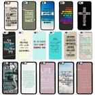 Sayings Quotes Case Cover for Apple iPhone 6 & Plus - A8