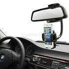 Car Rearview Mirror Mount Holder Fit For Smart Phone iPhone Samsung MP4 MP3 PDA