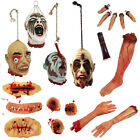 HALLOWEEN PROPS ACCESSORIES SCARS BULLETS SEVERED FINGERS HEADS LEGS ARMS LATEX