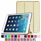 Multi-Color Leather Cover Slim Fit Case for 2014 Apple iPad Air 2 Wake/Sleep