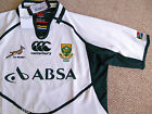S L XXL 3XL 4XL SOUTH AFRICA SPRINGBOKS PRO RUGBY SHIRT JERSEY Canterbury 2013