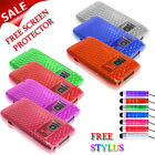 Silicone Gel Clear Hex Phone Case For NOKIA N8 + Screen Protector & Stylus Pen
