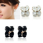 Camellia Flower Charm Ear Stud For Women Girls Jewelry Party Gift Brand New