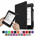 Premium PU Leather Case Cover Auto Sleep/Wake for Amazon Kindle Voyage (2014)