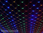 Color 4M x 6M 200/320/672/800 LED Net Fairy Lights Wedding Party Christmas Decor