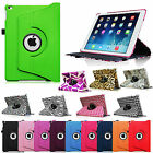 For 2014 Apple iPad Air 2 Multi-Color Rotating Leather Case Magnetic Sleep Cover