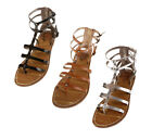 Sam & Libby Women's Keira Fashion Buckle Strap Gladiator Sandals, 3 Colors