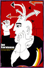 4632.Los karate's.man with arrows on head.movie.POSTER.Decoration.Graphic Art