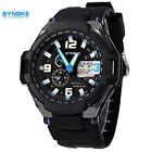 SYNOKE Student Synchronization Two time Sports Wrist Watches Swim Waterproof