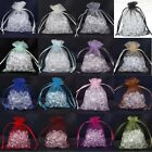 Wholesale Sheer Organza Wedding Party Favor Decoration Gift Candy Pouch Bags