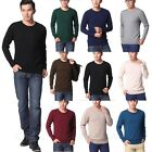 Comfy Warm Thin Mens Cashmere Sweater Wool Jumper Pullover Winter NEW