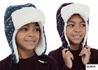 Boy's Sherpa Lined Trapper Hat, 2 Colours, 2 Ages to Choose