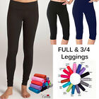 WEEKEND DEAL ONLY NEW Full And Cropped Leggings, 3/4 Length All Colours & Sizes!