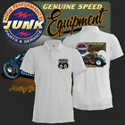 Hot Rod Polo Shirt Junk High Performance  Bad Rat Vintage Rockabilly Route 66
