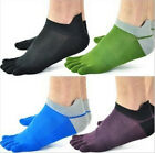 Actual Nice 1 Pairs Men Socks Pure Cotton Sports Five Finger Socks Toe Sock MWUK