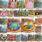 Kids Children's Teens Boys Girls Rugs Mats Roads Hopscotch Formula 1 Fun Furs