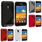 TPU S-Line Rubber Case Cover for Samsung Sprint Galaxy S2 S II Epic Touch 4G