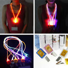 CHEAP SALES  XMAS PARTY Lights Lighting Light-Up Flashing LED Neck Strap Lanyard