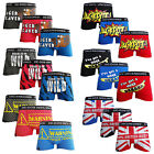 Mens De-Dos Designer Novelty Rude Boxer Trunks Funny Shorts Underwear Pants