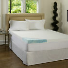 NEW Beautyrest 3-inch Gel Memory Foam Mattress Topper with Cover PICK SIZE