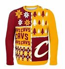 Cleveland Cavaliers Ugly Sweater - Busy Block - NEW NBA Christmas Holiday