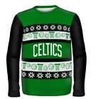 Boston Celtics Ugly Sweater - Wordmark One Too Many - NBA Christmas Holiday