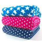 ANTI PIL POLAR FLEECE - 150CM WIDE SUPER SOFT CUDDLE fashion craft STAR DOT