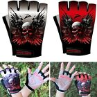 Hot Cycling Glove Bike Bicycle 2 GEL Pads Shockproof Sports Half Finger Gloves