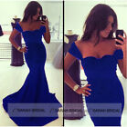 Mermaid Bodycon Evening Gowns Girls Women Party Ball Dresses Clubwear Special Oc