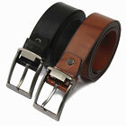 New Trendy Stylish Leather Vintage Classic Pin Waist Band Strap Belt for Men
