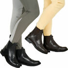 LADIES YARD SYNTHETIC LEATHER ZIP PADDOCK RIDING JODPUR BOOTS SIZE ALL 4 5 6 7 8