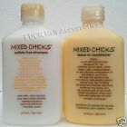 MIXED CHICKS SULFATE FREE SHAMPOO and LEAVE-IN CONDITIONER  10fl oz/ 300ml