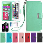 Leather Flip Cover Credit Card Wallet Case For Apple iPhone 6 / iPhone 6 Plus