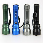 Outdoor Sports Ultrabright LED 7W 500LM Flashlight Torch Lamp Light 9colors AA