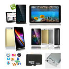 "7""GSM 3G Phablet Android 4.4 PC Tablet Bluetooth Dual Camera Smart Phone+16GB TF"