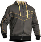 LINDSTRANDS CHECK YELLOW UNISEX HOODY HOODIE HOODED SWEATER CASUAL URBAN
