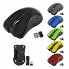 2.4GHz USB 2.0 Wireless Optical Mouse Mice With Mini Receiver For Laptop PC New