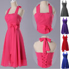 ~FINAL CLEARANCE Evening/Formal/Bridesmaid/Gown/Party/Prom Mini Dresses AU STOCK