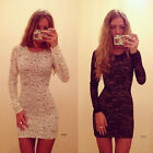 1x Sexy Womens Bodycon Slim Lace Mini Dress Cocktail Club Party Dress Reliable