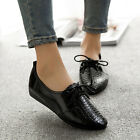 Women Ballet Flats Comfort Lace up Casual Cut Shoes light weight Free Shipping