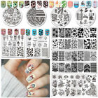 whale template - Born Pretty Nail Art Stamp Image Plates Stamping Templates Manicure Decoration