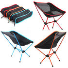 Portable Chair Folding Seat Stool Fishing Camping Hiking Gardening Beach + Bag