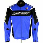 JOE ROCKET UFO SOLID BLUE MOTORCYCLE JACKET MEDIUM, LARGE 9051-7203, 9051-7204