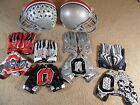 Nike Team Issue Ohio State Buckeyes Football Gloves Vapor Jet Carbon Rivalry 3.0