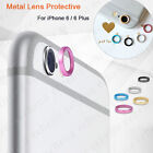 Rear Camera Metal Lens Protective Protector Ring Cover For iPhone 6 6 Plus