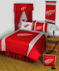 Detroit Red Wings Comforter and Sheet Set Twin to King Size