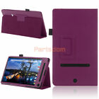 Folio Flip PU Leather Case Stand Cover For 2015 Dell Venue 8 7000 Tablet