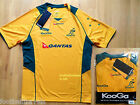 XL AUSTRALIA WALLABIES KooGa OFFICIAL RUGBY MATCHDAY TRAINING T SHIRT jersey